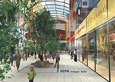 Einkaufszentrum Cannstatter Carr Hpg Haustechnische